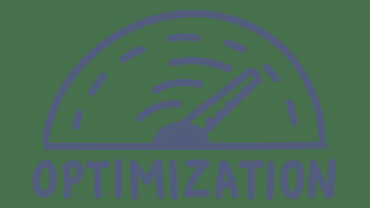 doodle of optimization meter